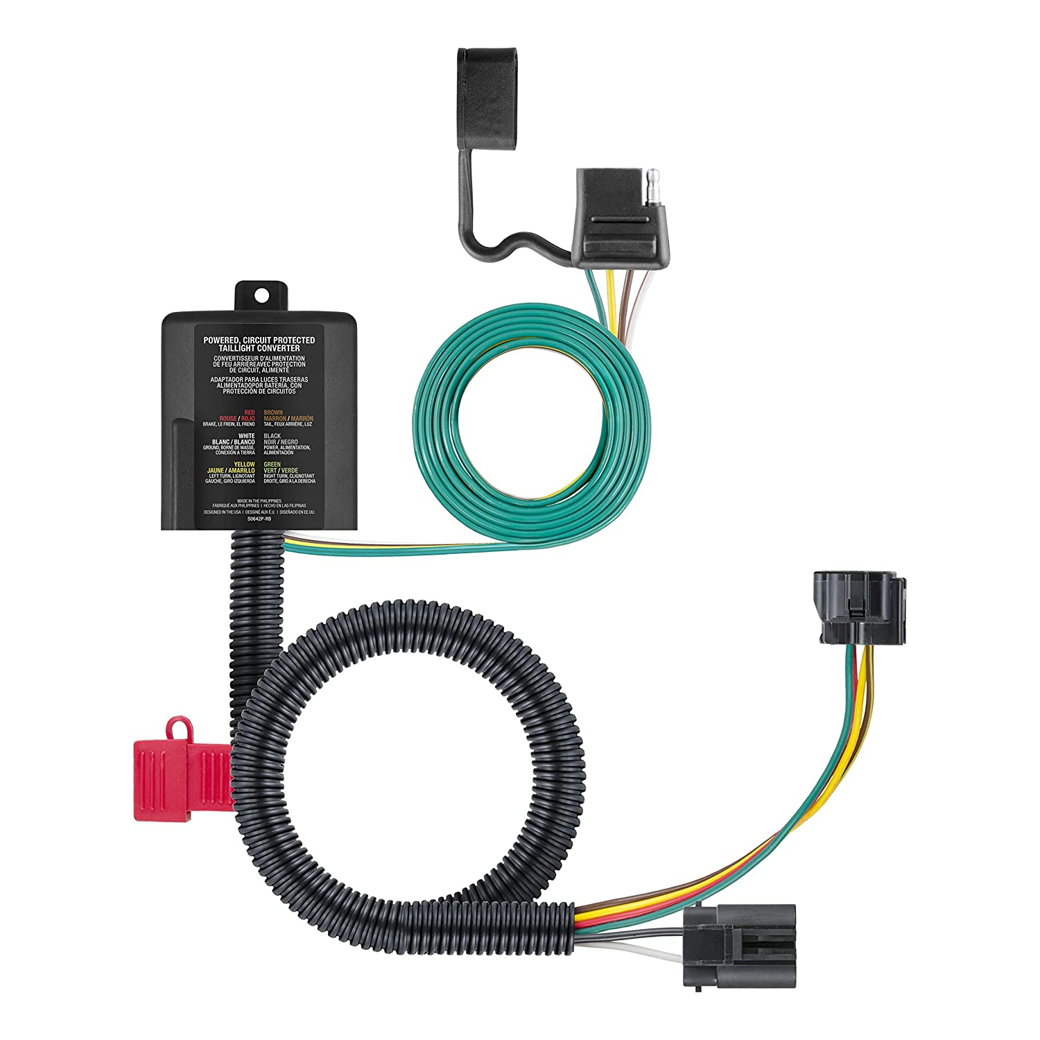 CURT Manufacturing 99314 Class 3 Hitch Kit and Wiring Harness