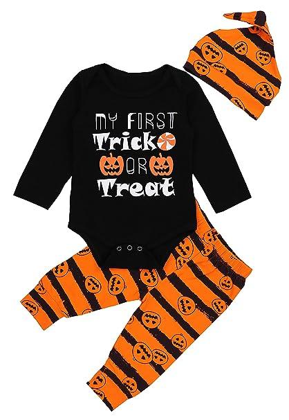 Amazon.com: 3 piezas de disfraz de Halloween para recién ...