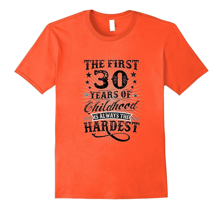 dee8d54de01 Fun Vintage Retro 30 Year Old Gag Gift T-Shirt 70th Birthday-CL ...
