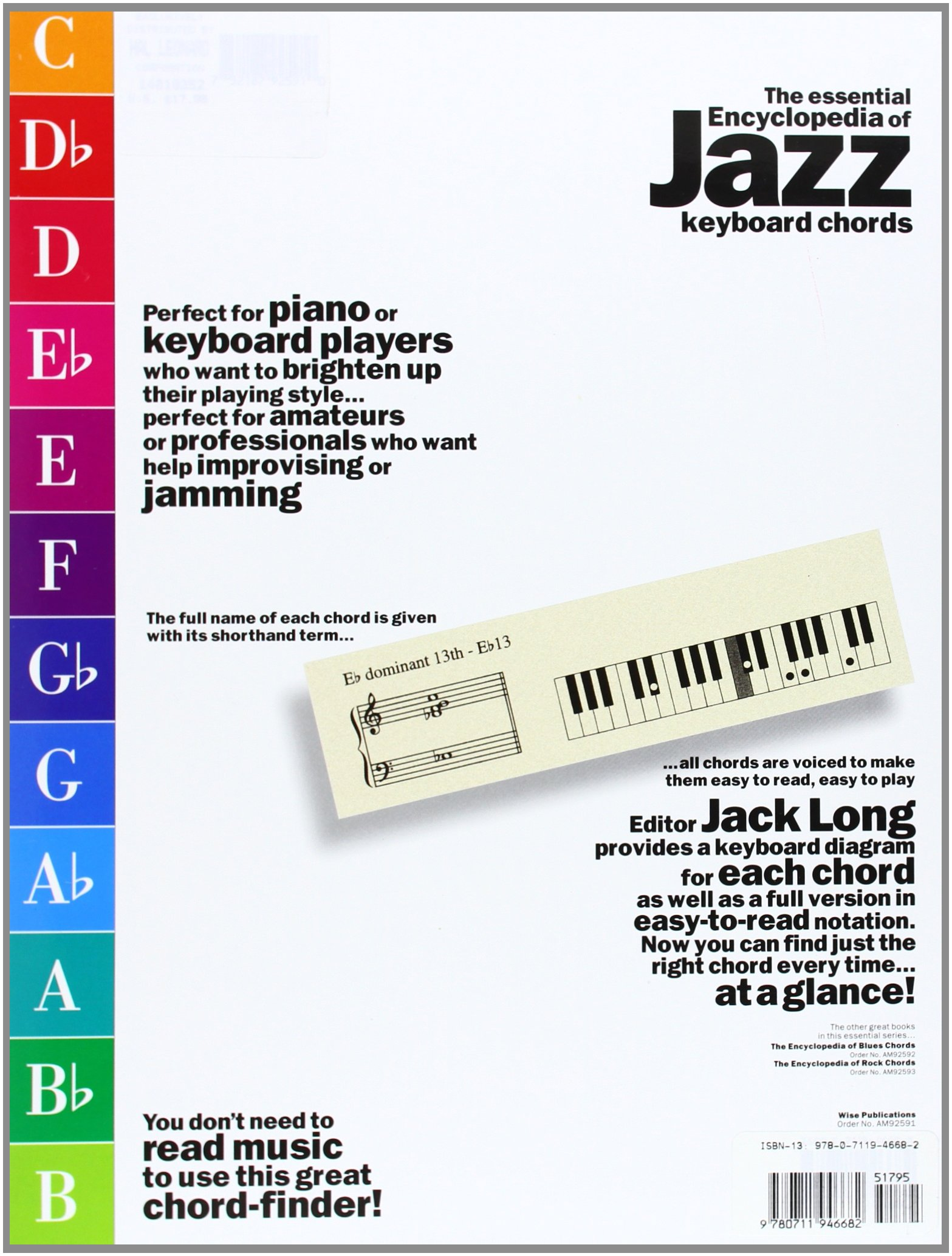 Encyclopedia of jazz chords jack long 9780711946682 amazon encyclopedia of jazz chords jack long 9780711946682 amazon books hexwebz Choice Image