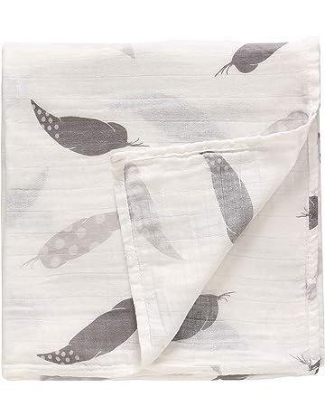 Manta de muselina para bebé extra suave - Eco 70% bambú 30% algodón,