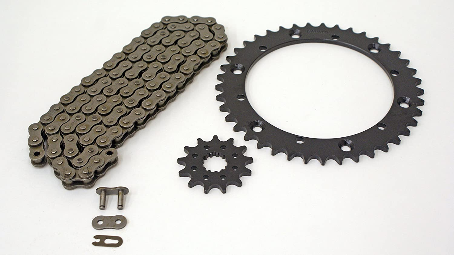 Non O-Ring Chain /& Silver Sprocket 15//41 102L fits 1995-2000 fits Yamaha 350 Warrior