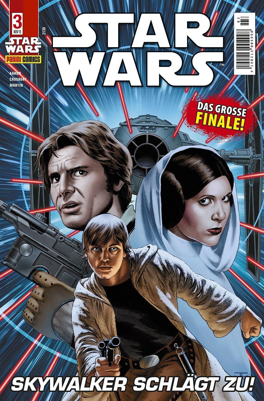 Star Wars #2 - Skywalker schlägt zu, Teil 2 (2015, Panini) *Neustart der erfolgreichen SF- Reihe*