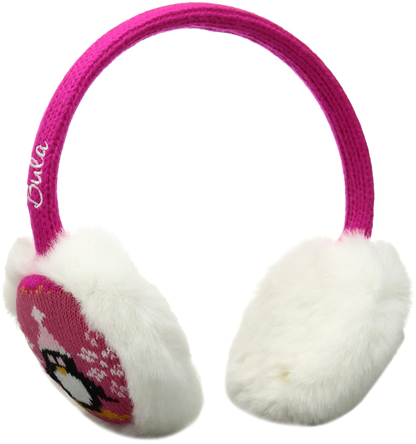 Bula Girl's Penguin Earmuffs, Black, One Size KTEPEN