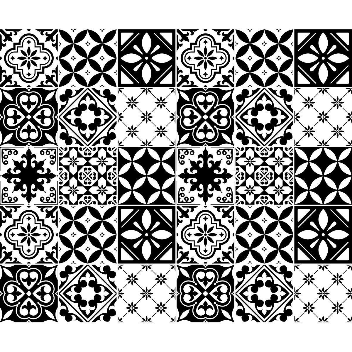 Ambiance Sticker Stickers Carrelages 30 de 15 x 15 cm Rosario