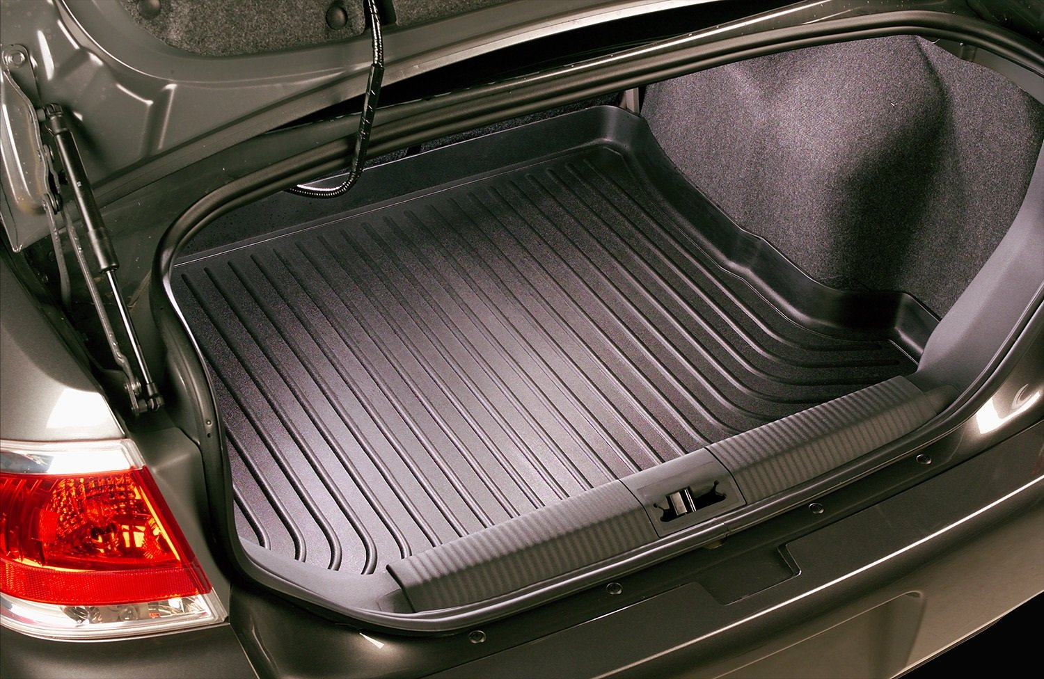 Husky Liners Custom Fit WeatherBeater Behind 3rd Row Seat Rear Cargo Liner for Select Honda Odyssey Models Grey