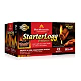 Pine Mountain Firestarters StarterLogg Firestarting Blocks, 24 Starts (6 packs of 4)