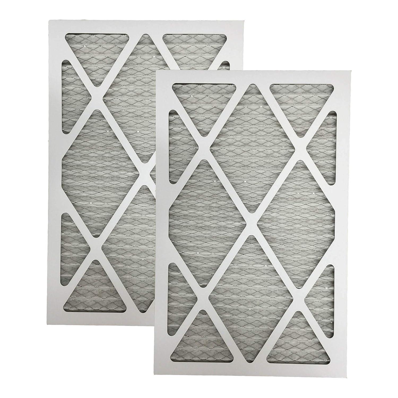 2 MERV 11 Allergen Air Furnace Filters 12x24x1 Crucial Air