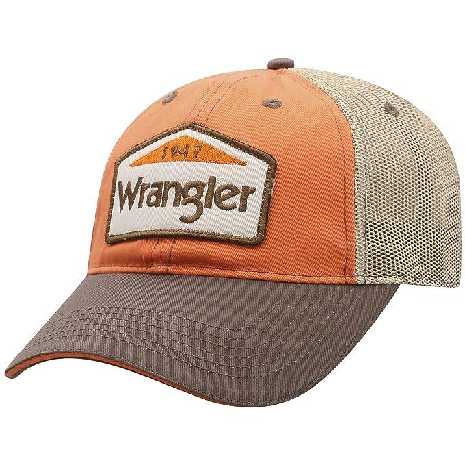 1daa9a76e Wrangler Men's 1947 Mesh Back Trucker Cap