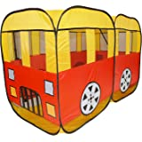 Large wheels on the bus toy tent - Sing a long and role play with children - Quick and easy to put up and down