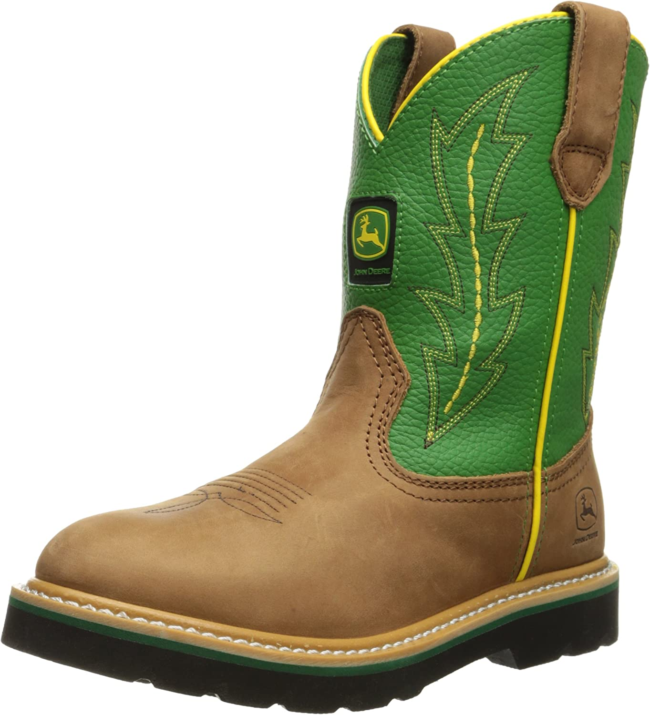 John Deere 3186 Western Boot Little Kid//Big Kid