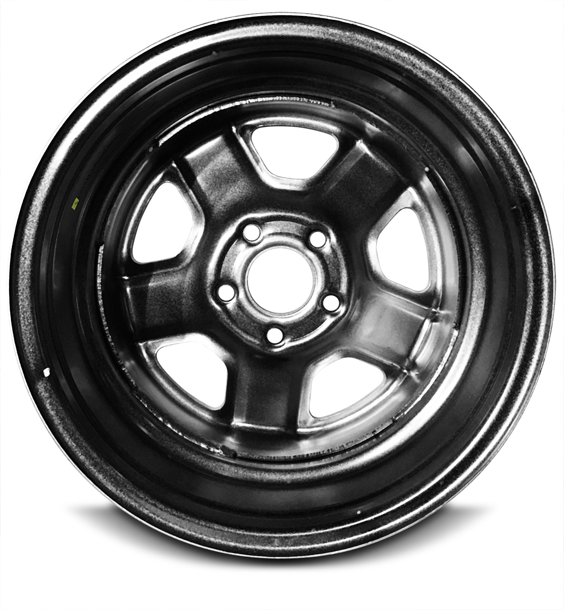 New 16 Inch Jeep Patriot Compass 5 Lug Silver Replacement Steel Wheel Rim 16x6.5 Inch 5 Lug 67.1mm Center Bore 40mm Offset WAA by Road Ready Wheels (Image #3)