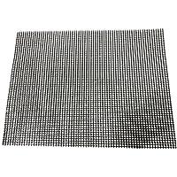 Ounona Grille pour barbecue en maille Tapis de tapis de barbecue grill anti-adhésif pour cuisson barbecue cuisson 36x 42cm