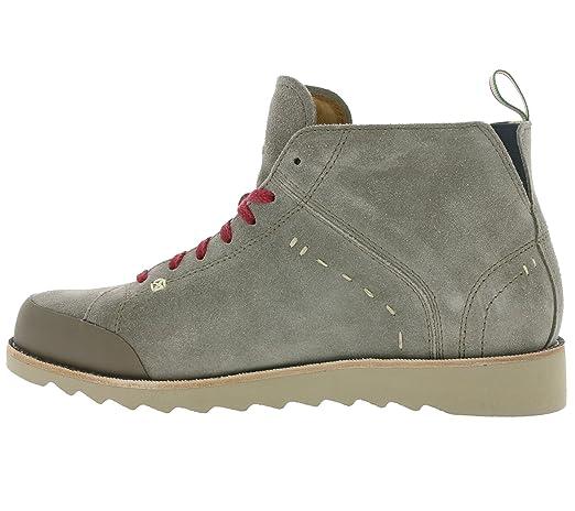 Dolomite, Stivali da escursionismo donna grigio grigio, (Grigio medio (Mid Grey)), 12
