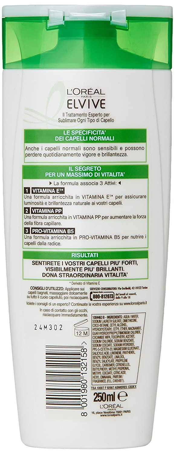 Amazon.com : Multivitamin 2 In 1 Shampoo And Conditioner by Elvive : Beauty