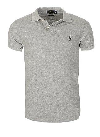 Ralph Lauren Poloshirt small pony, Custom Fit, Homme Multicolore - Large  NEW  Amazon.fr  Vêtements et accessoires f8ee14455bec
