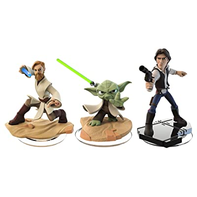 Disney Infinity 3.0: Star Wars Bundle 3-Pack (Han Solo / Obi-Wan Kenobi / Yoda): Video Games