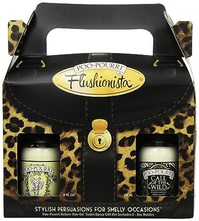 Amazon.com: Poo-Pourri Flushionista Women's Gift Set SET FLS 002 ...
