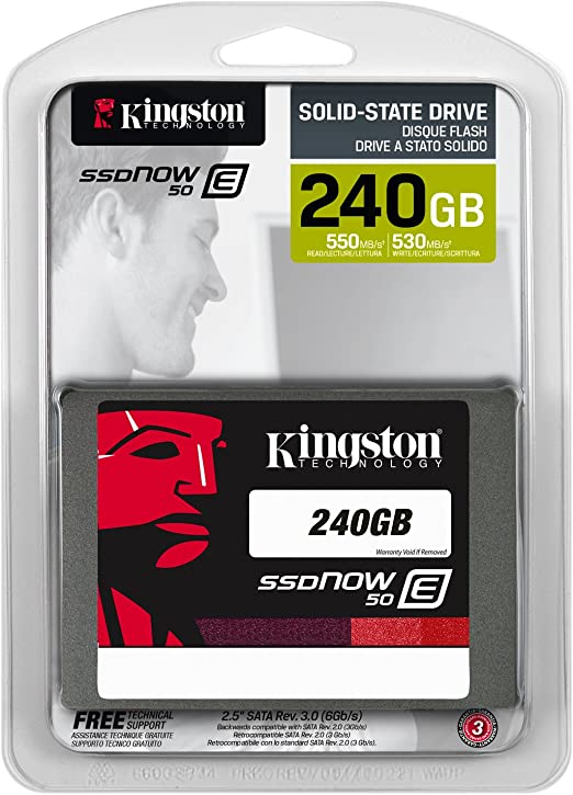 Kingston E50 - Disco Duro sólido SSD de 240 GB, Gris: Amazon.es ...