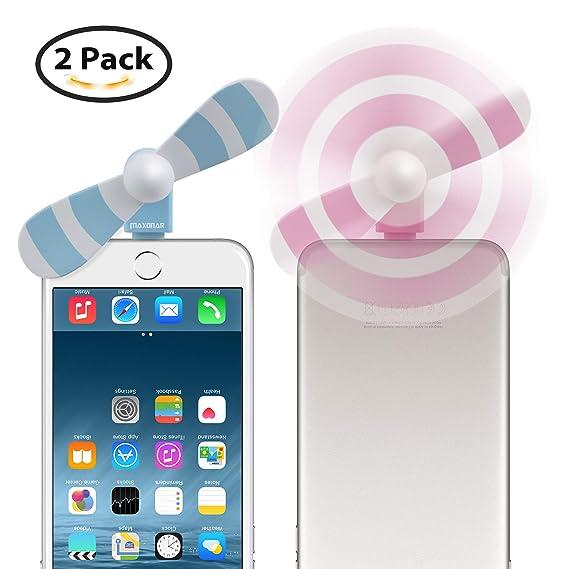 amazon com fan for iphone iphone fan maxonar portable iphone fan