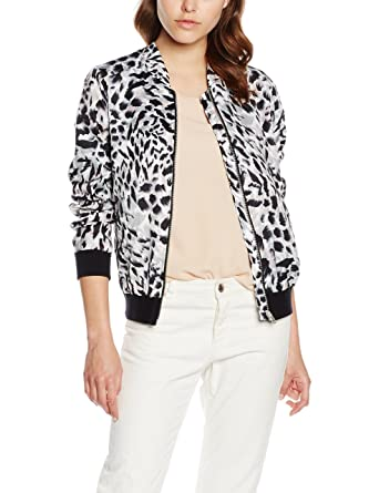 New Look Animal Print Chaqueta para Mujer