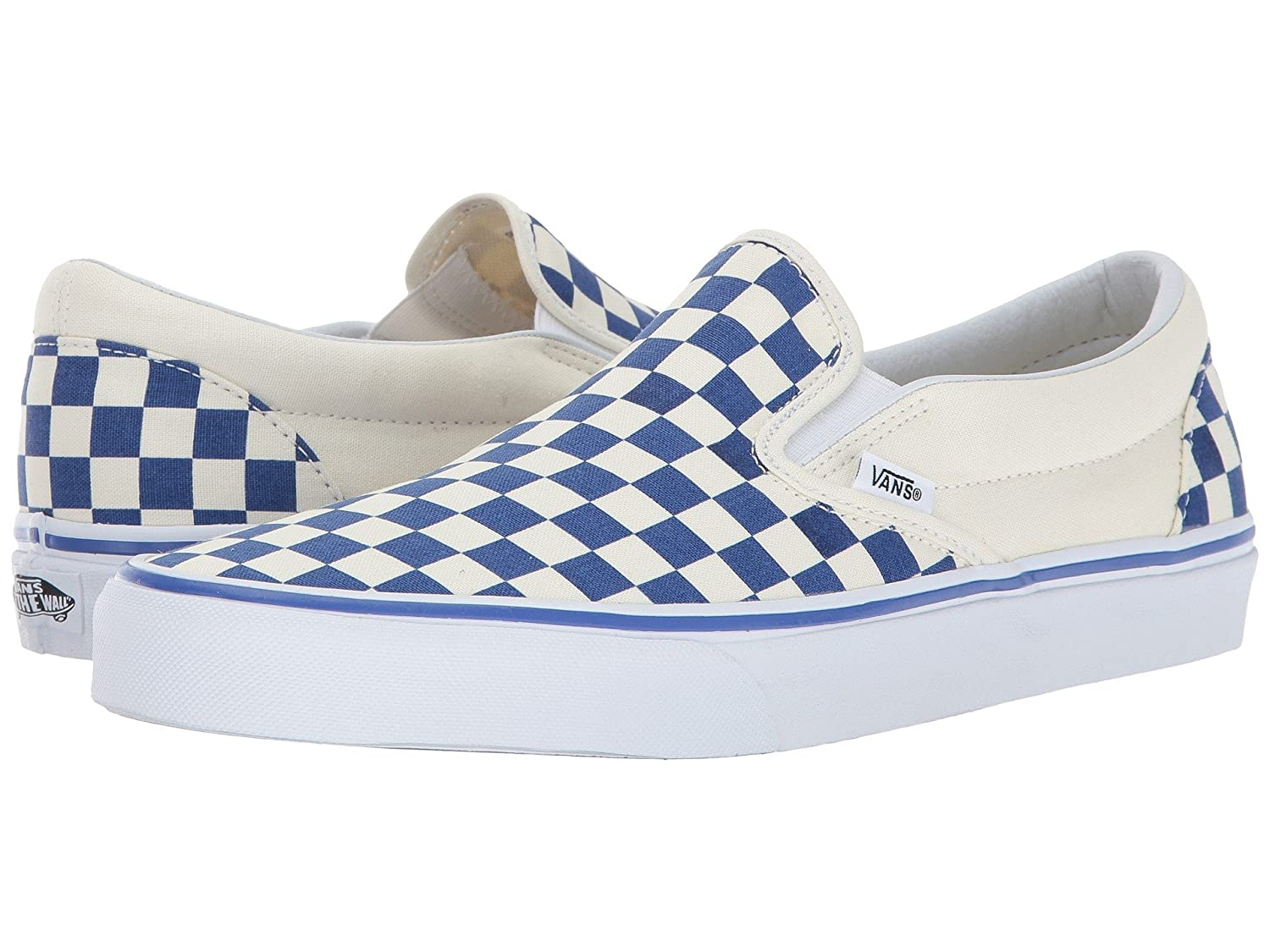 [バンズ] スニーカー Women's AUTHENTIC (Pig Suede) VN0A38EMU5O レディース B07814WL6T ( Primary Checker) True Blue / White 14.5 B(M) US Women / 13 D(M) US Men 14.5 B(M) US Women / 13 D(M) US Men|( Primary Checker) True Blue / White