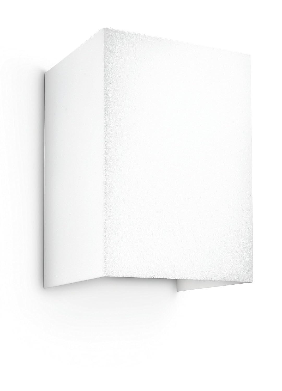 Philips myLiving Wandleuchte, 3 W, Hopsack, weiß, 333113116
