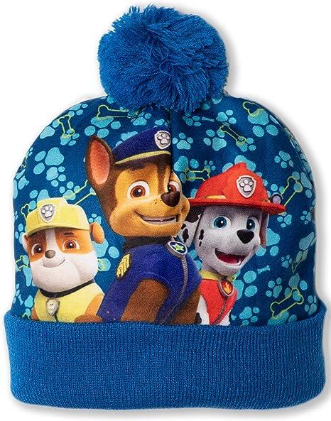 Boys Girls Kids Official Paw Patrol Skye Winter Beanie Hat One Size 4-8 Years