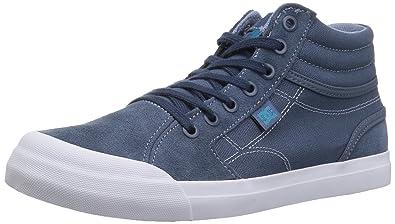 0b5f21f95add DC Boys Youth Evan Hi Skate Shoes Blue