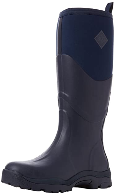 Muck Boots Damen Greta II Max Gummistiefel, Blau (Marineblau), 36 EU