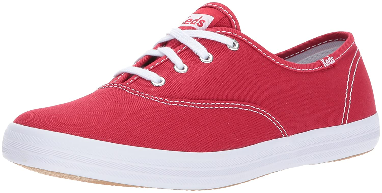 Keds Women's Champion Original Canvas Sneaker B0017H509G 12 M US|Red
