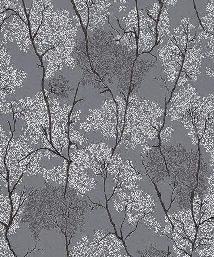 Erismann Japanese Garden Grey Wallpaper 9503 15 Blown