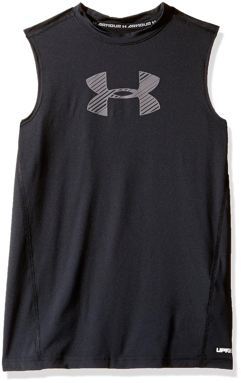 Under Armour Boys HeatGear Armour Sleeveless Fitted Shirt