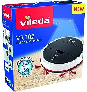 Vileda VR 102 - Robot aspirador de gran autonomía (1h 30 de limpieza continua)