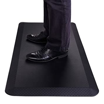 flexispot standing desk mat 20 in x 39 in non slip comfort kitchen floor mat amazon com  flexispot standing desk mat 20 in x 39 in non slip      rh   amazon com