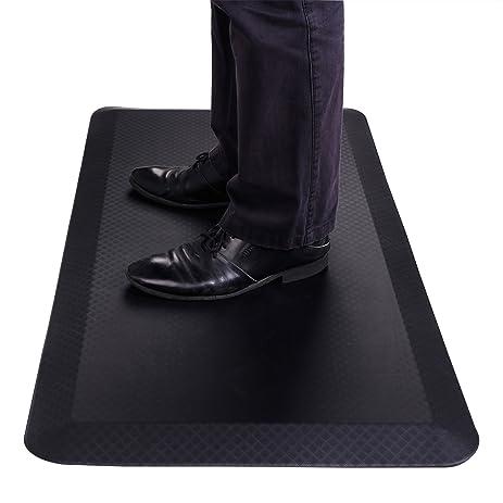 flexispot standing desk mat 20 in x 39 in nonslip comfort kitchen floor mat