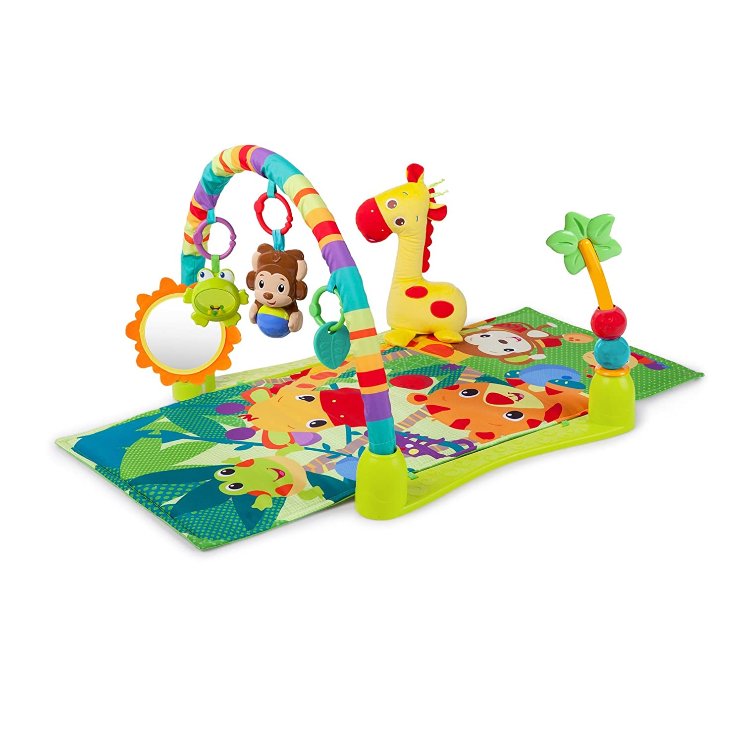 Amazon Bright Starts Activity Gym Playmat Jungle Discovery