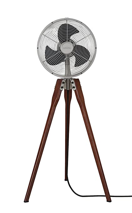 Superior Fanimation Arden Pedestal Fan   Satin Nickel With Power Cord   220v    FP8014SN 220 Design Inspirations