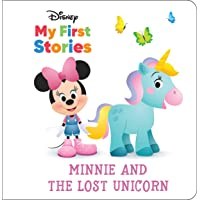 Disney My First Disney Stories - Minnie Mouse and the Lost Unicorn - PI Kids (A Book in Four Languages)