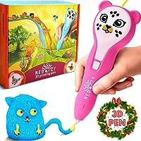 MeDoozy Pluma 3D - Juguetes ideales para niños y adolescentes - Mejores ideas de regalos para niños y niñas - Juego de manualidades de chicas y chicos - Las mejores plumas de impresión 3D