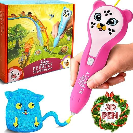 MeDoozy Pluma 3D - Regalos perfectos para niños y niñas de ...
