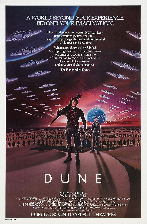 DUNE Movie POSTER RARE Sci-Fi Star Wars 24x36inch