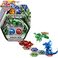 Bakugan Starter Pack 3-Pack, Fenneca Ultra, Geogan Rising Collectible Action Figures, Kids Toys for Boys