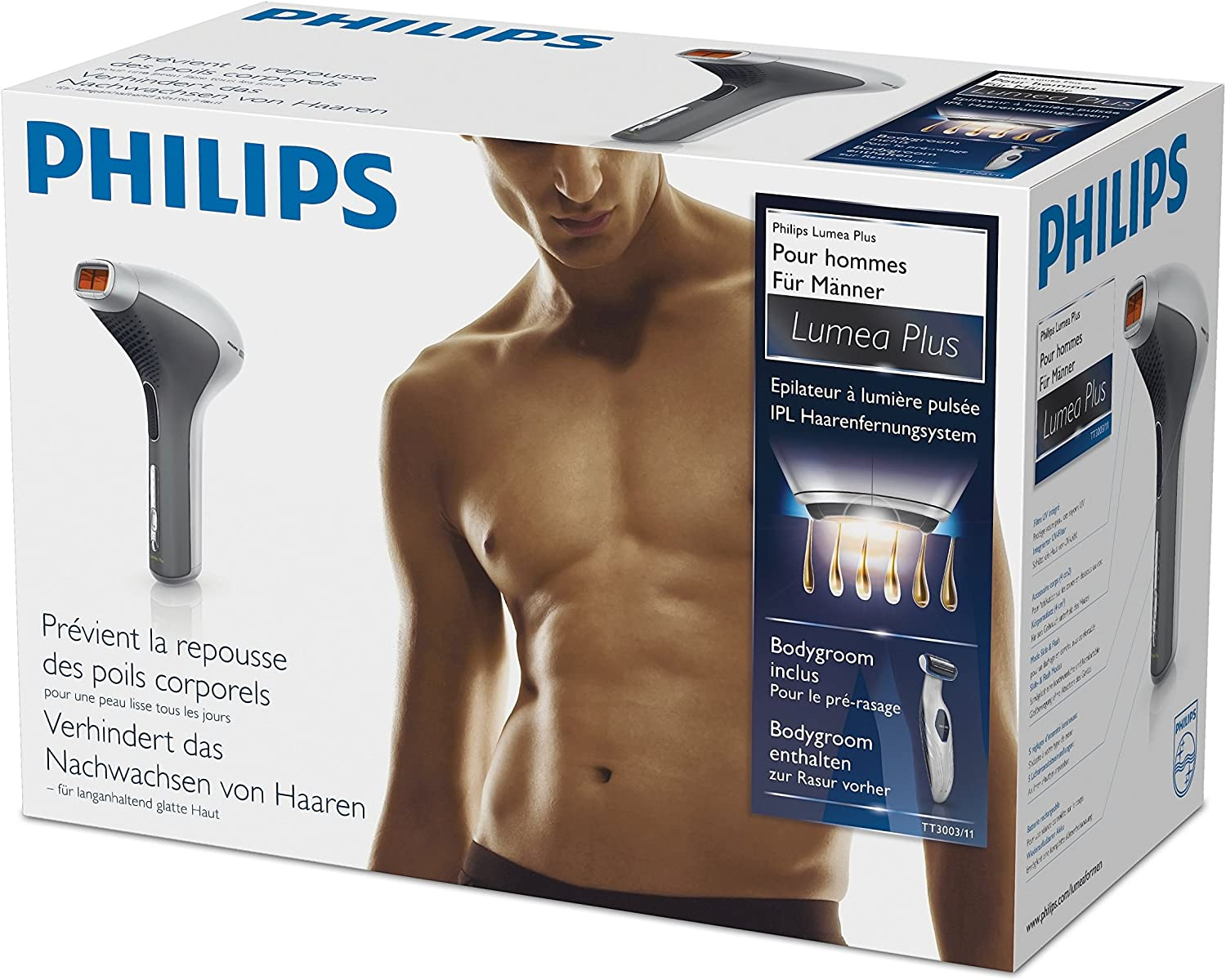Philips Lumea Plus Slide & Flash TT3003/11 - Depiladora por luz ...
