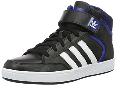 adidas Men's Varial Mid Skateboarding Shoes, Black (Negbas/Ftwbla/Reauni),