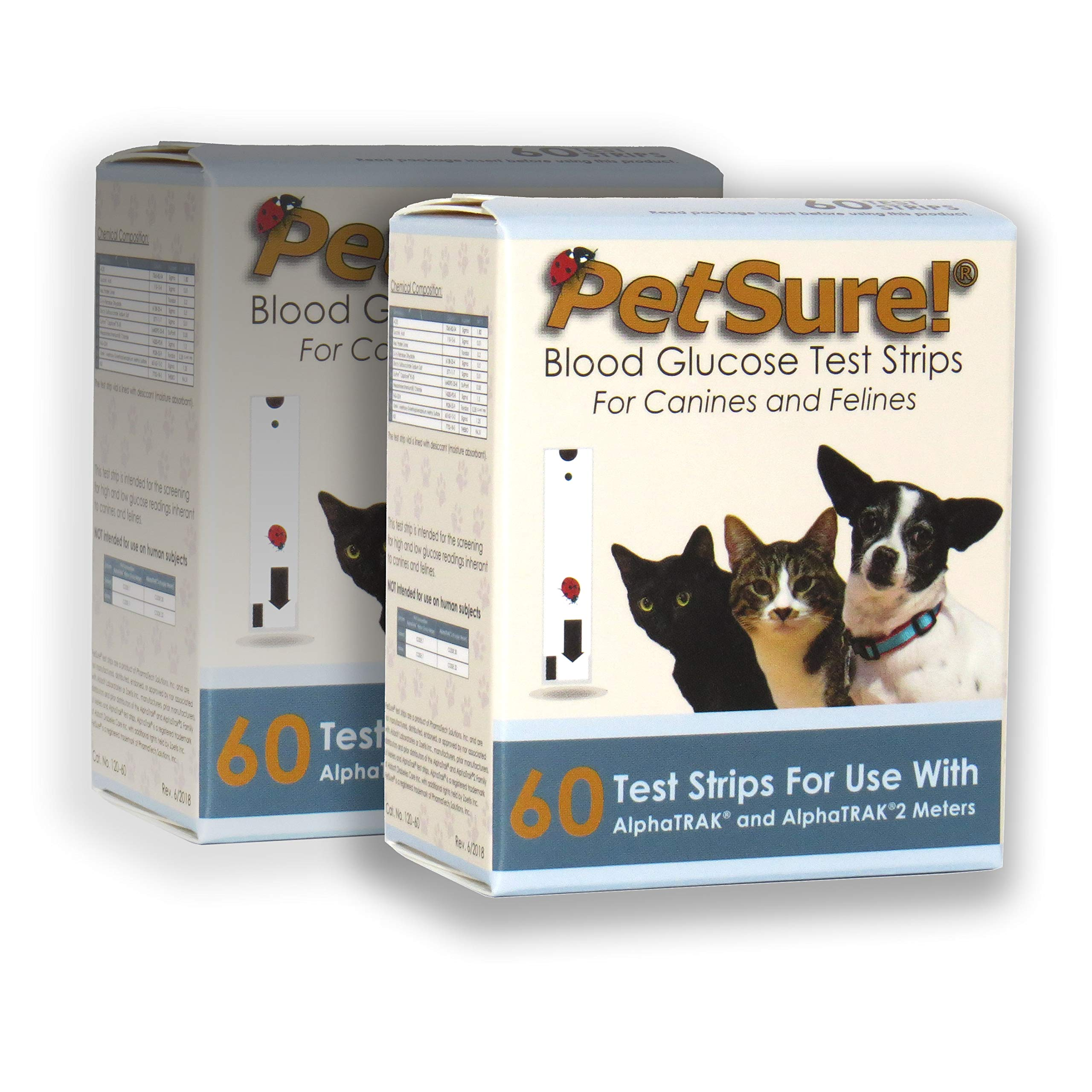 PetSure! Test Strips 60ct - Pack of 2 by PetSure!