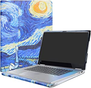 "Alapmk Protective Case For 15.6"" Lenovo Yoga 730 15 730-15IKB 730-15IWL/CHROMEBOOK C340 C340-15/Yoga Chromebook C630 Laptop,Starry Night"