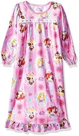 Amazon.com  Disney Princess Girls Long Sleeve Nightgown Pajamas  Clothing ca931d29b