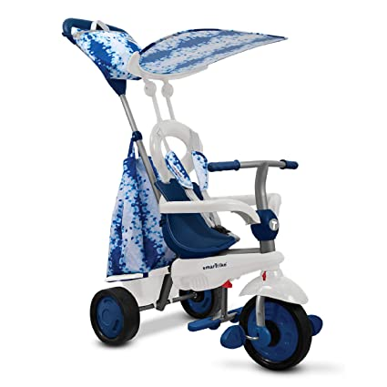 d73456e9e0b smarTrike Spirit Trike Baby Tricycle for 1 Year Old, Blue: Amazon.co.uk:  Toys & Games