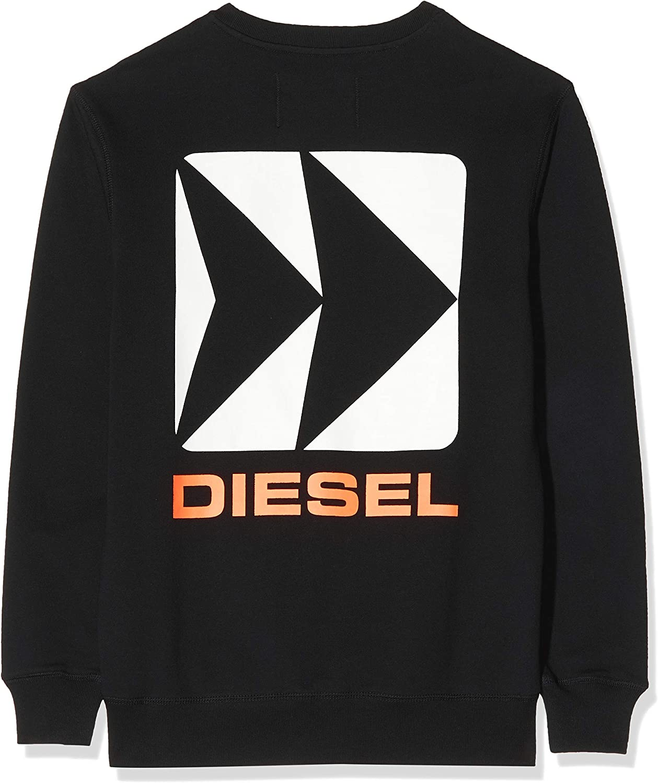 Diesel Bmowt-Willy Felpa Uomo